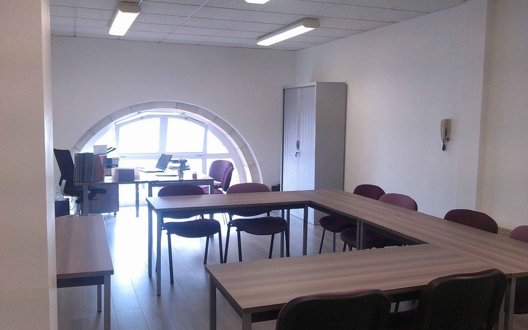 OuestPro'3C, un organisme de formation avec un local
